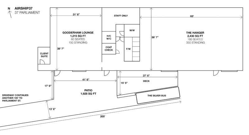 Airship37 Floor Plan