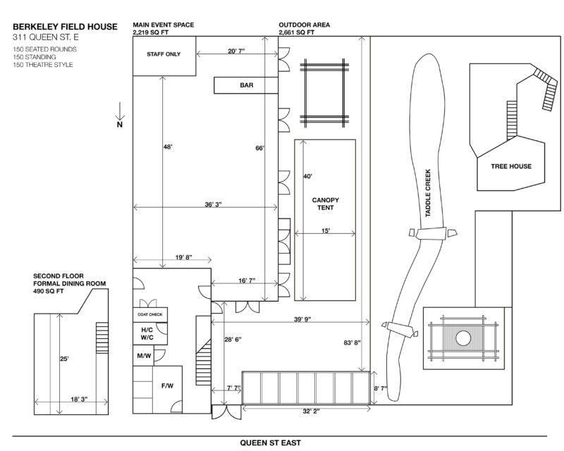 Field House Floor Plan