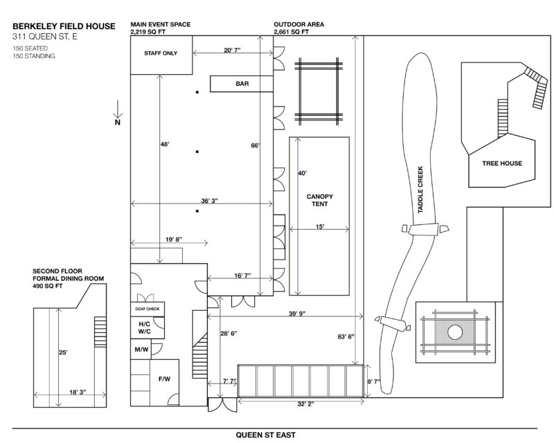 Field House Floor Plan