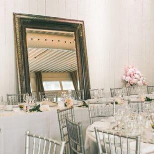 Wedding Set up Berkeley Field House