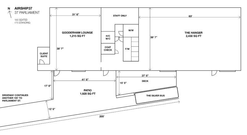 Airship37 Horizontal Floor Plan