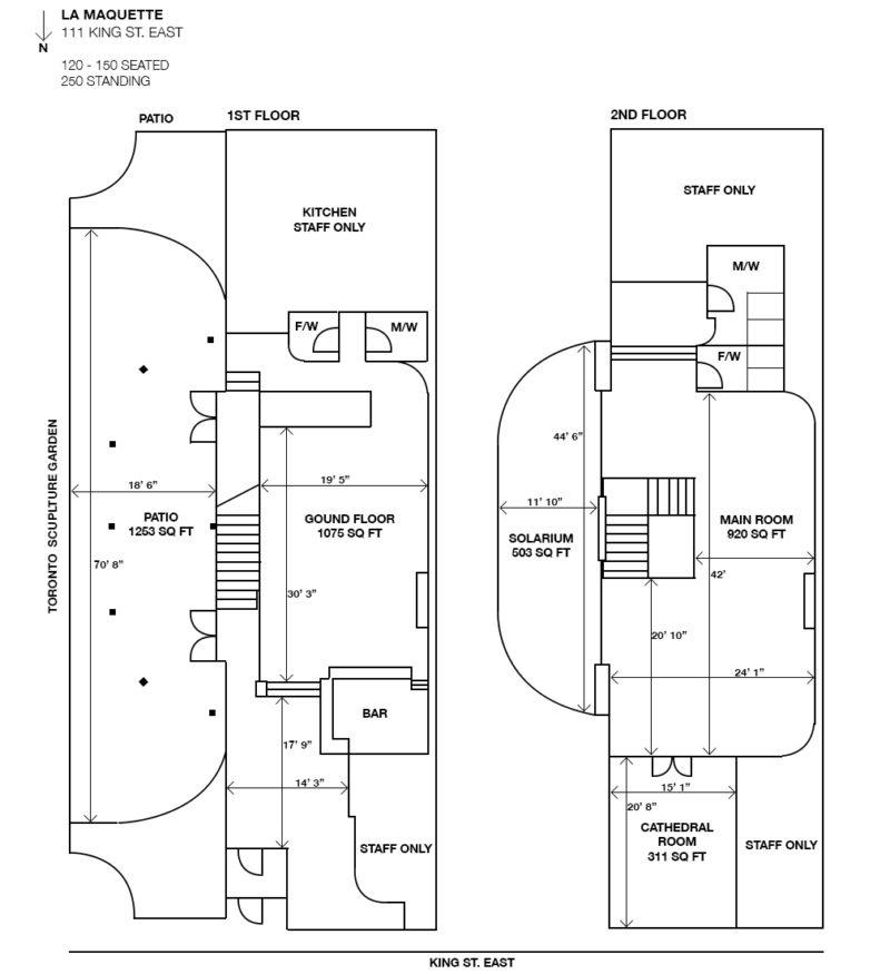 La Maquette Floor Plan