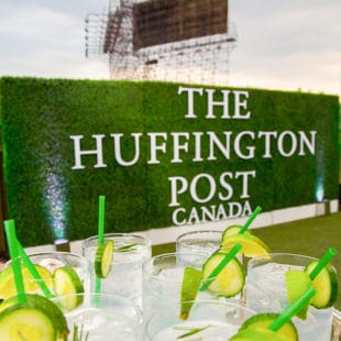 Huffington Post Wall at Airship37