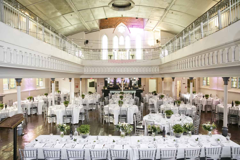 Wedding Set Up Berkeley Church