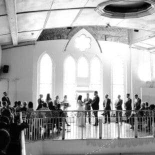 Wedding at '1871' Berkeley Church