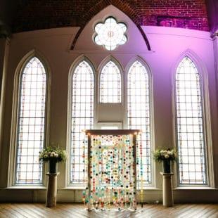 Wedding Alter at '1871' Berkeley Church