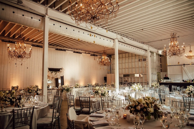 Moody wedding reception at Berkeley Field House