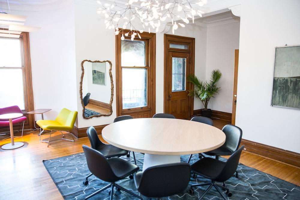 Eclectic corporate meeting room Toronto