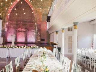 Harvest table wedding reception inspiration Berkeley Church Toronto