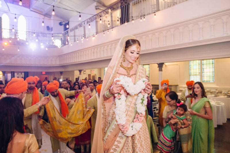 Berkeley church ethnic hindu wedding