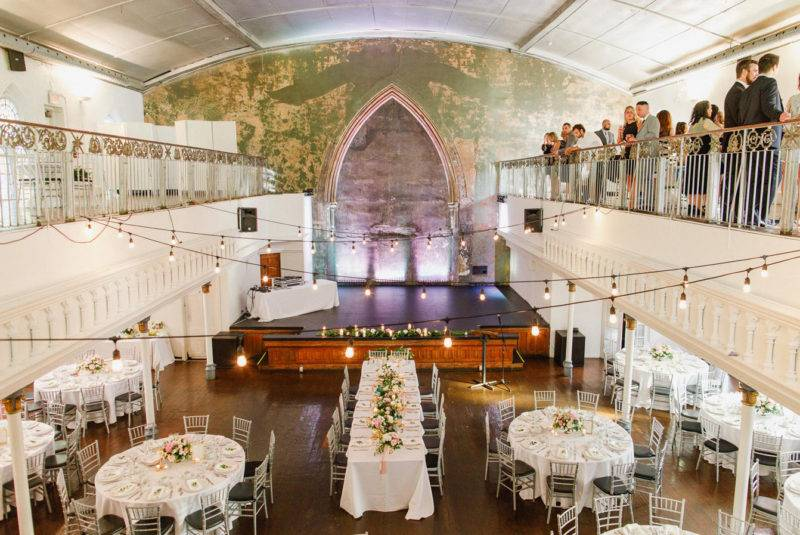 Wedding reception event space in Toronto