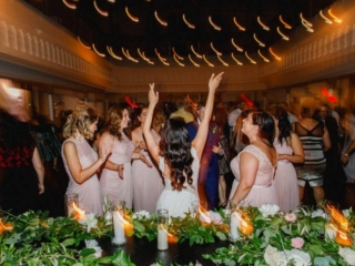 fun wedding reception at berkeley church toronto