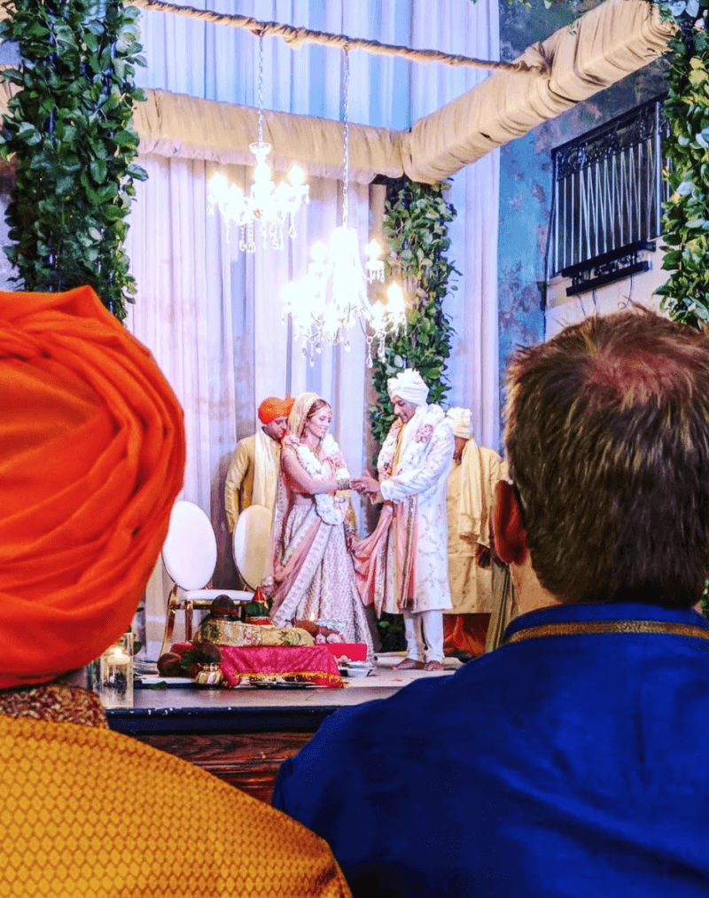 Hindu wedding ceremony at the berkeley church toronto