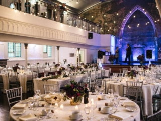 Fall wedding reception event space downtown toronto