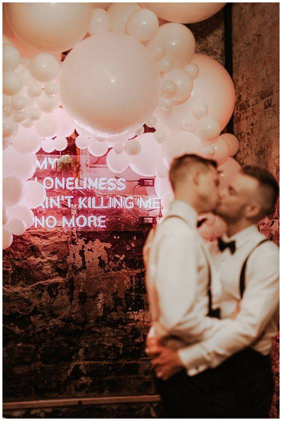 same sex wedding reception at berkeley church toronto