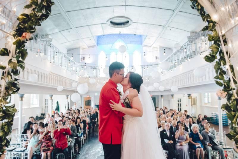 Asian wedding ceremony toronto berkeley church