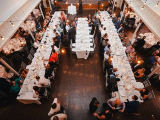 Large wedding reception space the berkeley church toronto