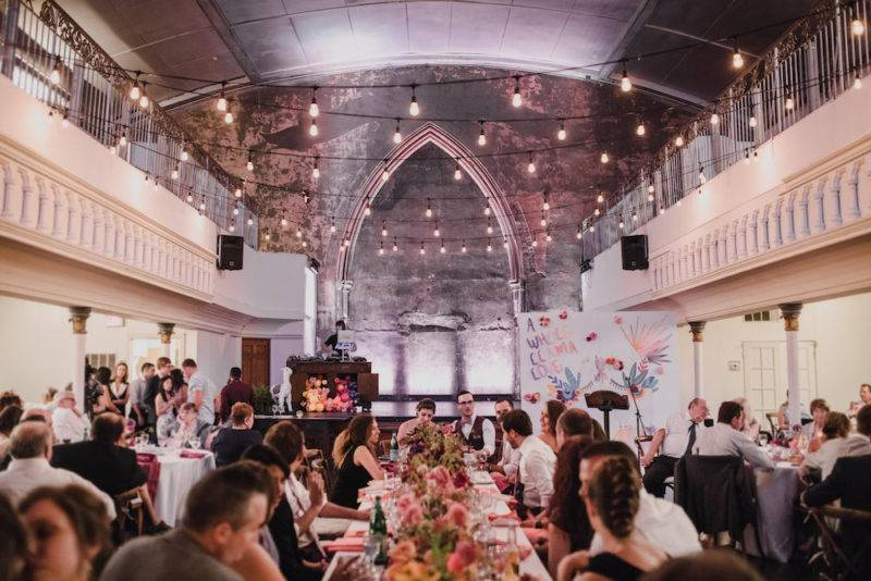 Peruvian wedding reception at the berkeley church toronto