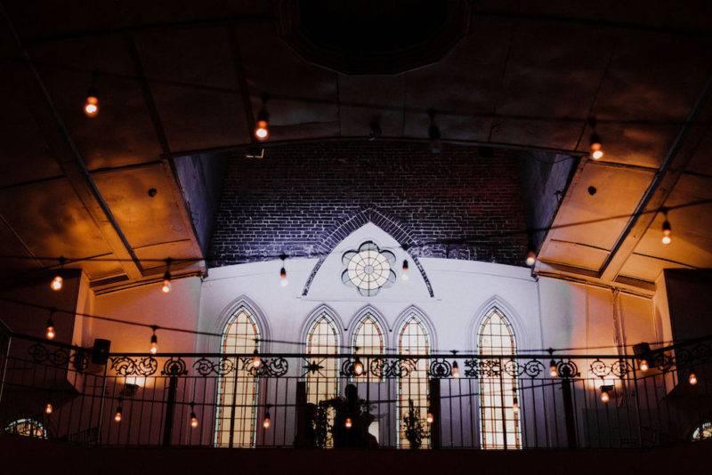 Twilight night wedding reception venue downtown-Toronto