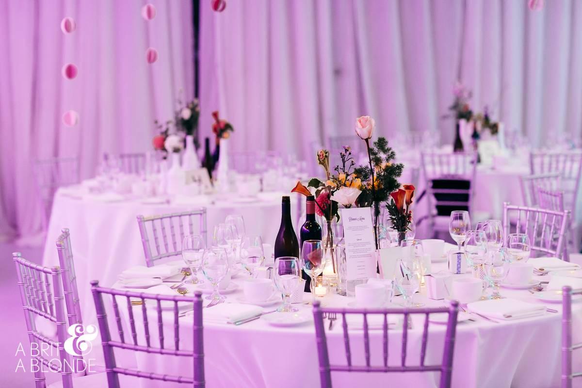 Wedding reception at Airship 37 in Toronto