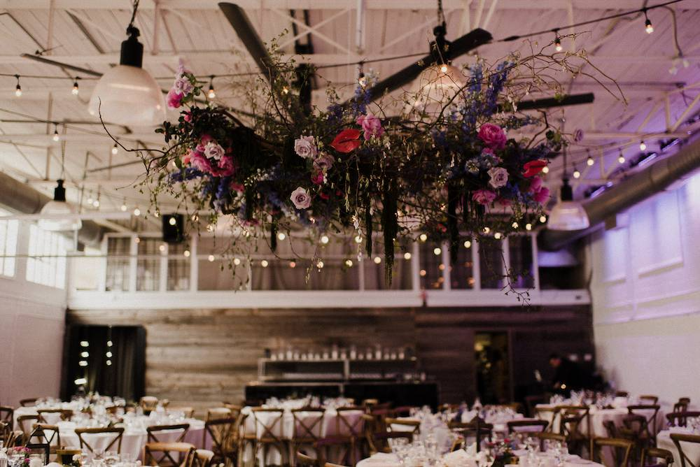 Airship 37 Wedding reception distillery district