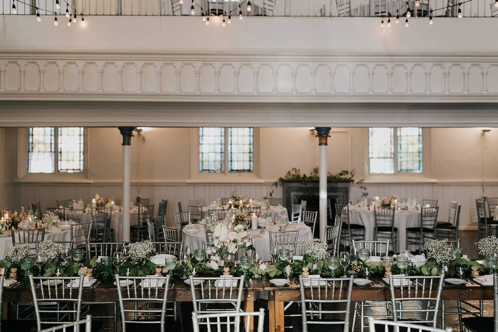 Downtown Toronto Events Venue Historic Berkeley Church Wedding Reception